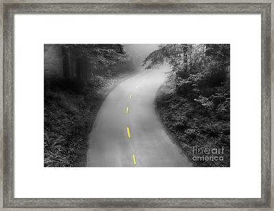 Mysterious Framed Print by Alice Cahill
