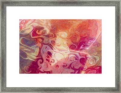 Mysterious Beauty Framed Print
