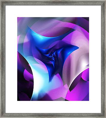 Framed Print featuring the digital art Mysterious  by David Lane