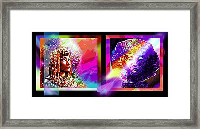 Mysterious Egypt Framed Print by Hartmut Jager