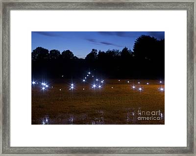 Mysterious Lights Framed Print by Jonathan Welch