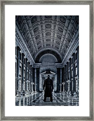 Mysterious Man Framed Print by Edward Fielding