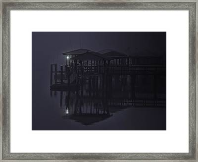 Framed Print featuring the photograph Mysterious Morning by Laura Ragland