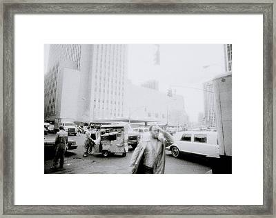 Mysterious New York Framed Print by Shaun Higson