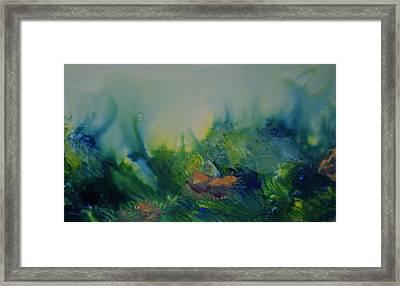 Mysterious Ocean Framed Print