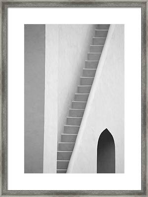 Mysterious Staircase Framed Print