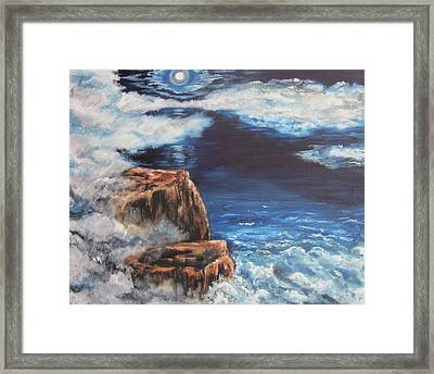 Mysterious Water Framed Print by Cheryl Pettigrew