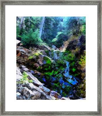 Mysterious Water Wonderland Framed Print by Dan Sproul