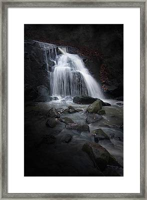 Mysterious Waterfall Framed Print