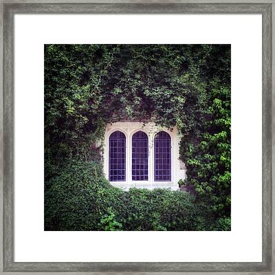 Mysterious Window Framed Print