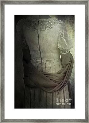 Mysterious Woman Framed Print by Svetlana Sewell