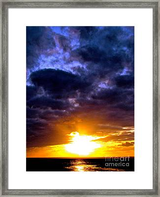 Mystery Framed Print by Q's House of Art ArtandFinePhotography
