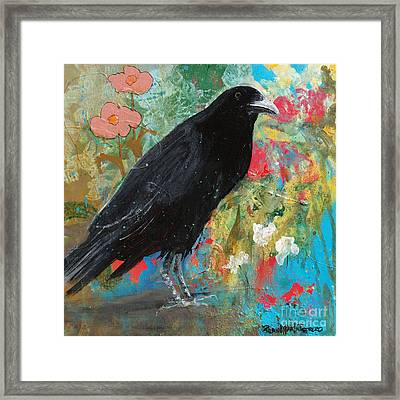 Framed Print featuring the painting Mystery At Every Turn by Robin Maria Pedrero