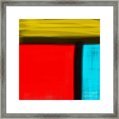 Mystery Boxes Framed Print by James Eye