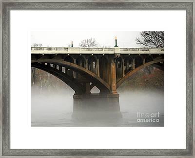 Mystery Bridge Framed Print
