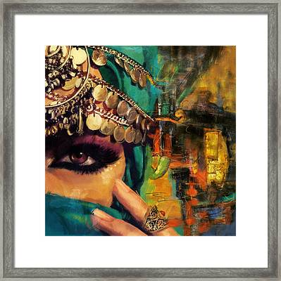 Mystery Framed Print by Corporate Art Task Force