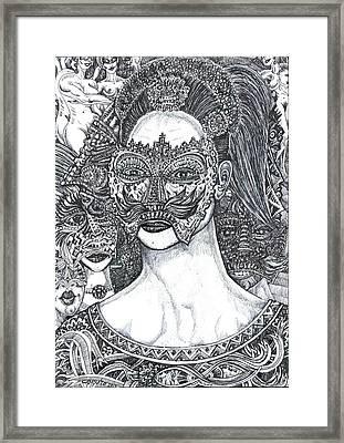 Mystery Girl Framed Print