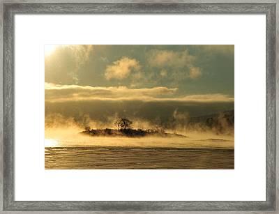 Mystery Island Framed Print by Randi Grace Nilsberg