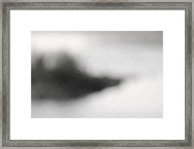 Mystery Island Framed Print by Tommytechno Sweden