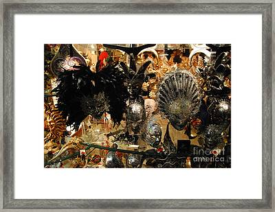 Carnival Of Venice Framed Print by Jacqueline M Lewis