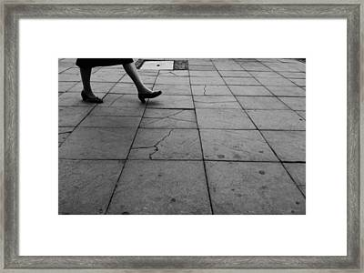 Mystery Framed Print by Lucy D