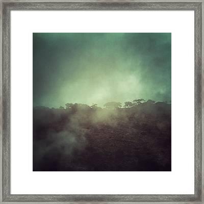 Mystery Mountain Framed Print