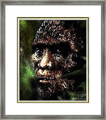Mystery Of Bigfoot Framed Print by Hartmut Jager