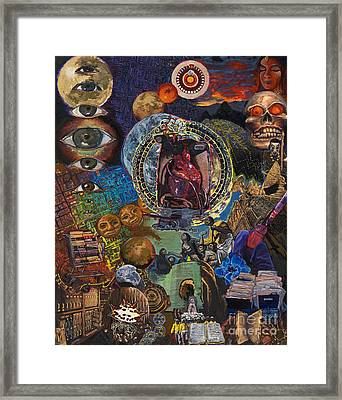 Mystery Of The Human Heart Framed Print