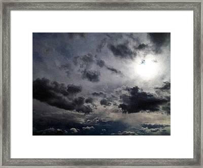 Mystery Of The Sky Framed Print by Glenn McCarthy Art and Photography