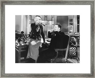 Mystery Of The Wax Museum, From Left Framed Print by Everett