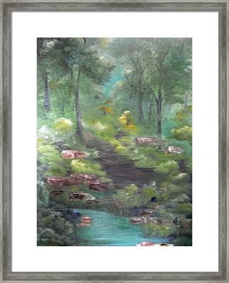 Mystery Path Framed Print