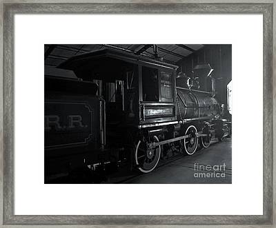 Mystery Train Framed Print by Gregory Dyer