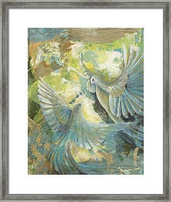 Mystery Framed Print by Valerie Graniou-Cook