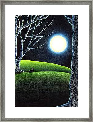 Mystery's Silence And Wonder's Patience Framed Print