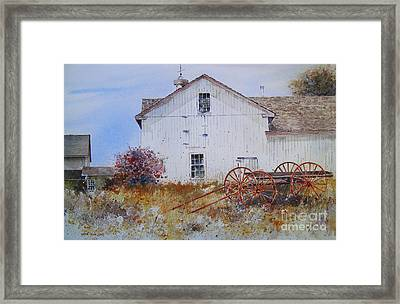Mystic Autumn Framed Print by Monte Toon