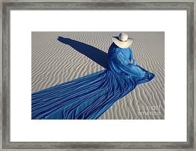 Mystic Blue 1 Framed Print