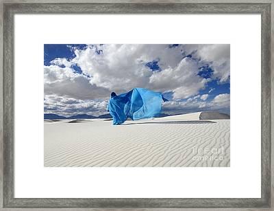 Mystic Blue 11 Framed Print by Bob Christopher
