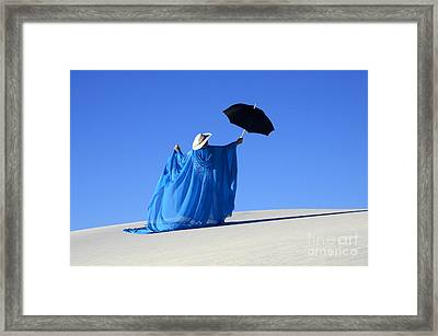 Mystic Blue 2 Framed Print by Bob Christopher