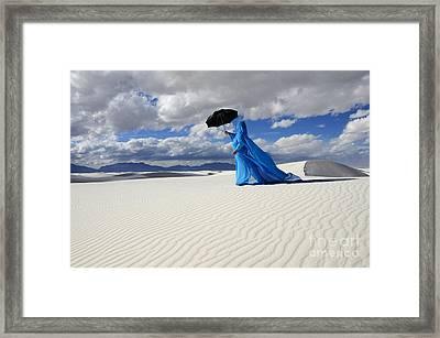 Mystic Blue 8 Framed Print by Bob Christopher