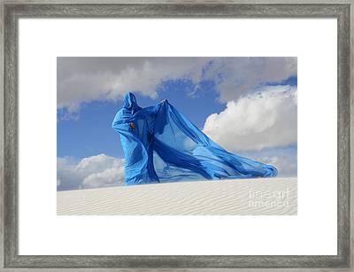 Mystic Blue 9 Framed Print by Bob Christopher