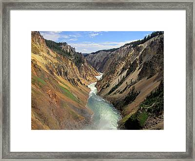 Mystic Canyon 3 Framed Print