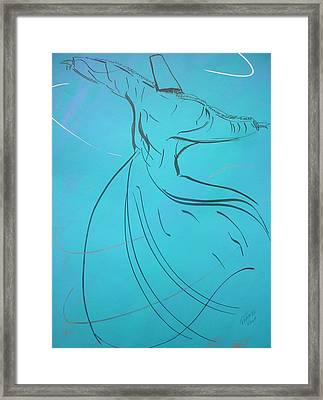 Mystic Dancer Parinda Framed Print