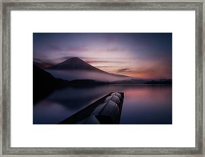 Mystic Fuji Framed Print