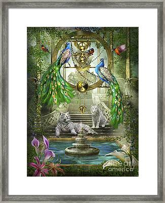 Mystic Garden Framed Print