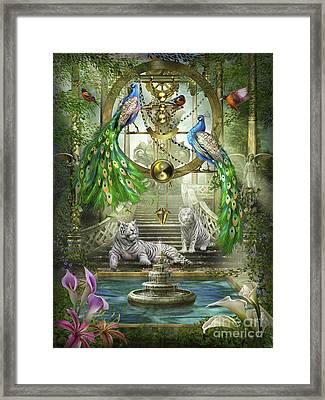 Mystic Garden Framed Print by Ciro Marchetti