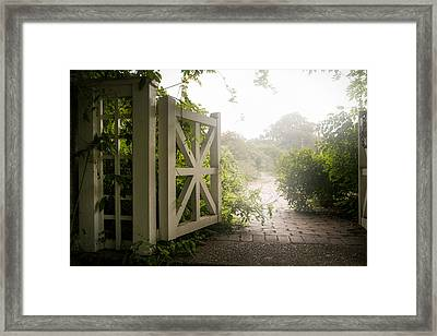 Framed Print featuring the photograph Mystic Garden - A Wonderful And Magical Place by Gary Heller