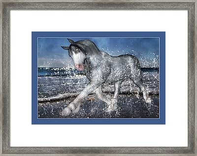 Mystic Inspiration Framed Print by Betsy Knapp