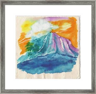 Mystic Island Framed Print