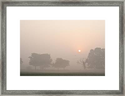 Framed Print featuring the photograph Mystic Landscape by Lana Enderle