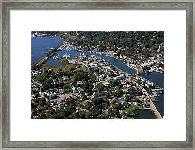 Mystic, Maine Framed Print by Dave Cleaveland